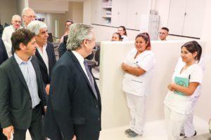 Fernández llamó a los empresarios a sumarse al «esfuerzo» del Gobierno para evitar despidos