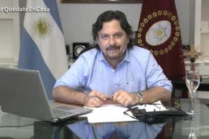 """""""La salud y la economía deben ir juntas"""", dijo Sáenz con relación al coronavirus"""