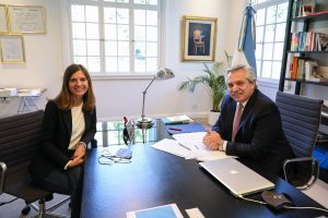 Cambio exprés: tras la salida de Vanoli,  Fernández puso en funciones a María Fernanda Raverta (Anses)