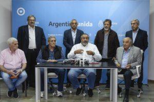 El Gobierno y la CGT conformarán un comité de crisis tripartito para definir cómo salir de la cuarentena