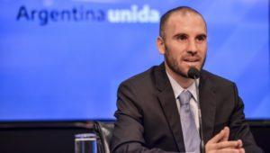 Guzmán se refirió a la decisión de postergar pagos de deuda en dólares