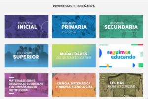 «Tu Escuela en Casa» actualizó su diseño y sumó propuestas