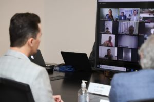 La Unicameral realizó su primera reunión virtual con foco en la asistencia social por el Covid-19