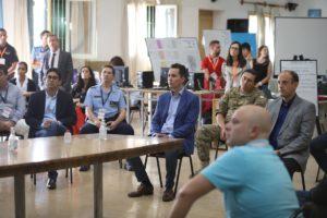 Calvo encabezó reunión con miembros de la Justicia en el COE de Capital
