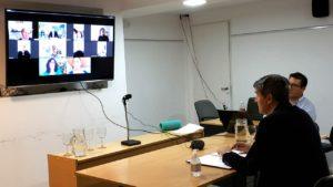 Con la comisión de Salud, el Concejo activa las reuniones por videoconferencia para analizar la emergencia sanitaria
