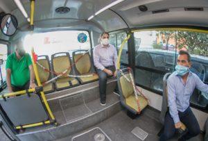 La Ciudad incorpora nueva medida para garantizar el distanciamiento físico en el transporte público