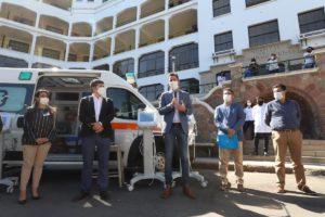Covid-19: el Gobierno aportó equipamiento por $9,5 millones al Hospital Domingo Funes