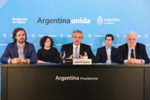 Fernández confirmó la extensión de la cuarentena  hasta el 10 de mayo, focalizada en los grandes centros urbanos