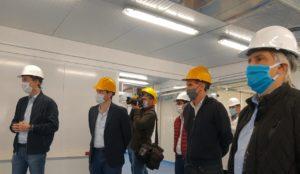 Katopodis, Calvo y Llaryora supervisaron las obras del hospital modular y de Bajo Grande