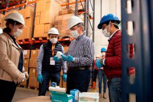 Schiaretti habló de «tener bien equipado» a los equipos de salud en el combate de la pandemia