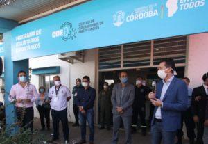 Calvo habló de «una Córdoba de diálogo y solidaria», al referirse a la articulación de distintas instituciones para enfrentar la pandemia