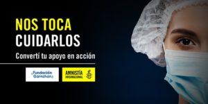 #NosTocaCuidarlos Campaña solidaria para comprar  insumos médicos destinados al personal de la salud