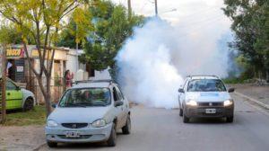 Por el dengue, comienzan las acciones ampliadas de fumigación espacial