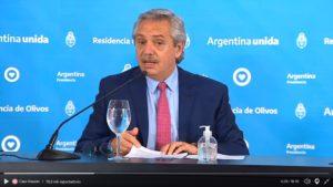 «La cuarentena no terminará sino que la flexibilizaremos», advirtió Fernández