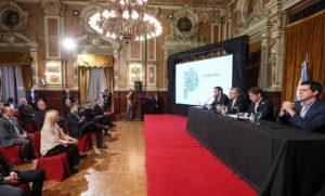 Junto a Kicillof, el presidente participó del lanzamiento de «Cuenta DNI», una billetera digital gratuita