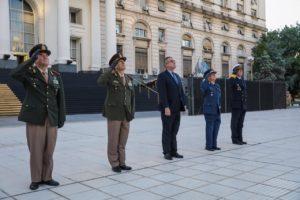 Rossi: «Este 2 de abril encuentra a las Fuerzas Armadas cuidando la salud del pueblo»