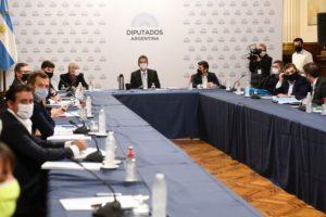 Diputados avanzan en un principio de acuerdo para convocar a una sesión virtual mixta la semana próxima