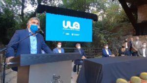 Al celebrar los 25 años de la ULA, Llaryora destacó la figura de Martí como «un visionario»