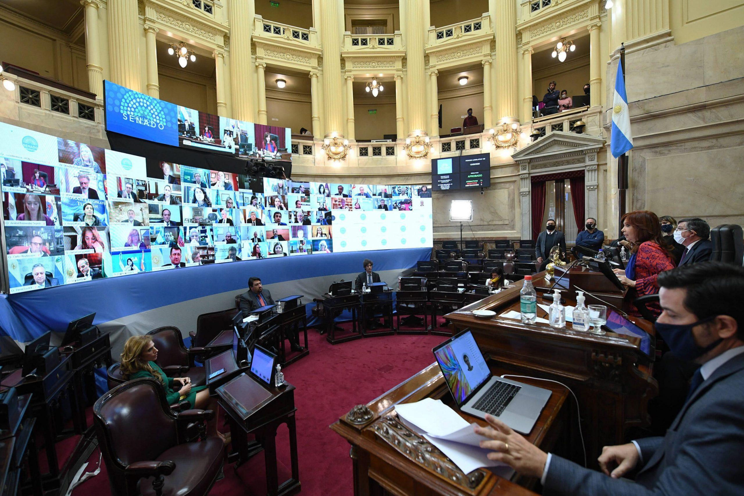 El Senado sesionará mañana por videconferencia con agenda relacionada a la pandemia