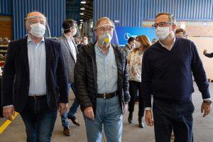 Schiaretti: «En los próximos 7 o 10 días ya todas las industrias de Córdoba podrán estar trabajando»