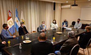 El municipio trabaja con sectores relacionados a las obras privadas para el regreso de la actividad