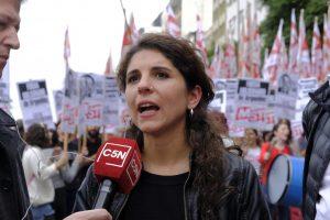 """La izquierda cargó contra la administración porteña:   """"los barbijos son la kriptonita de Larreta"""""""