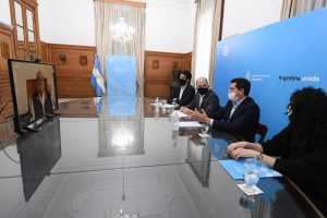 Convenio con el BICE para otorgar préstamos a municipios por 400 millones de pesos