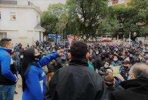 Ya suman 21 los choferes imputados por violar la cuarentena durante la protesta de anoche de UTA