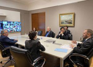 Guzmán recibió el apoyo de las Universidades Nacionales a la reestructuración de la deuda