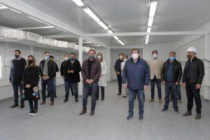 El Hospital Modular de Mar del Plata «se está equipando y pronto quedará listo»