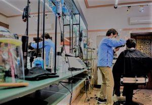 Habilitan en 369 localidades de las zonas blancas las actividades comerciales de peluquería y quiniela