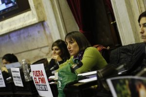 Del Plá denunció que el oficialismo «pacta en secreto» con JxC el temario de la sesión de Diputados