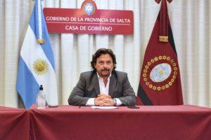 Al advertir «relajamiento social», Sáenz anunció más restricciones de circulación en Salta