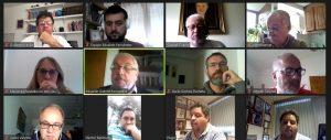 Fernández presentó su proyecto de régimen de teletrabajo a secretarios generales de gremios cordobeses