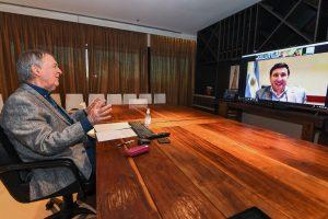 Schiaretti y Arroyo rubricaron cinco convenios para promover la inclusión laboral