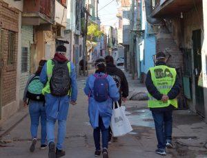 Suman 34 los fallecidos y 4.126 los enfermos de Covid-19 en barrios vulnerables porteños