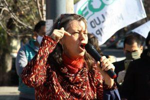 Municipales protestaron por la caída de 117 contratos y advierten que se profundizará el conflicto