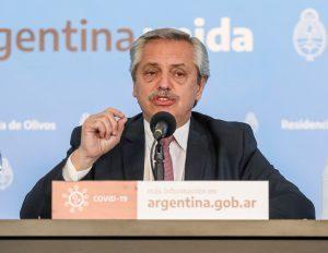 El Presidente se mostró a favor de endurecer la cuarentena en el AMBA