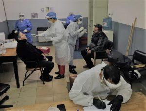 Los cien hisopados en el área de Obras Viales dieron resultado negativo