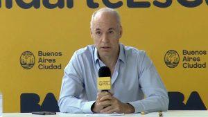 «No me engancho en discusiones políticas porque no ayuda», dijo Larreta