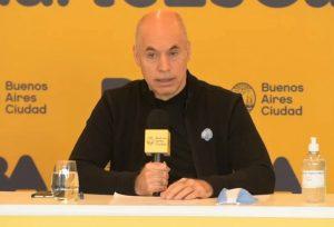 Larreta advirtió que «si la situación se complica restringiremos más las actividades»
