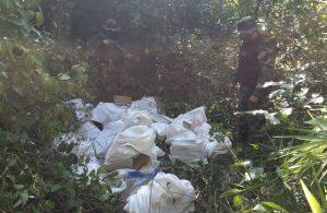 Prefectura secuestró un millonario cargamento de marihuana en Corrientes