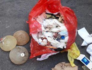 El municipio denunció a clínicas privadas por arrojar residuos patógenos en la vía pública