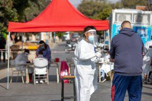 Por casos detectados, el COE dispuso un cordón sanitario en barrio Rivadavia de la Capital