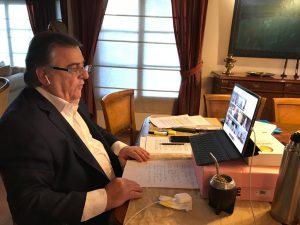 """En diálogo con Fernández, JxC reclamó «división de poderes» y dejar la tensión para evitar «el default político"""""""