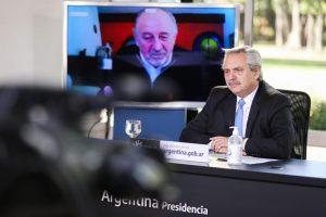 Fernández calificó de «principales aliados» a las Pymes, en la Argentina que se viene