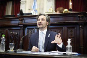 """Cafiero habló de """"la etapa de la recuperación"""" para reconquistar «el país de la producción y el empleo»"""