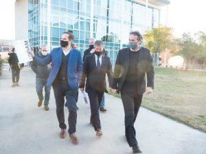 Tras inaugurar el hospital de La Matanza, Katopodis le apuntó a la gestión macrista