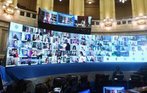 Senado: la bancada del Frente de Todos aprobó la ley de Teletrabajo