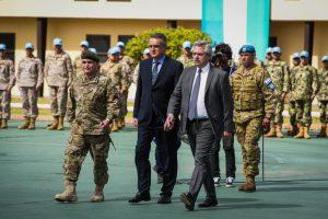 Rossi destacó «el fuerte compromiso» de las Fuerzas Armadas en el combate contra la pandemia